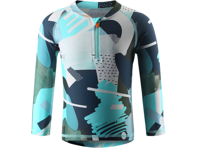 Reima Tuvalu Swim Shirt Barn light turquoise